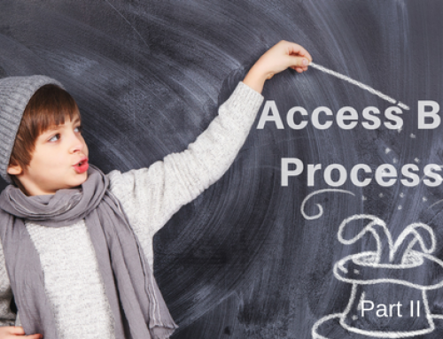 Access Body Processes Part II